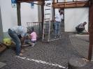 Aufbau Kirmes 2006